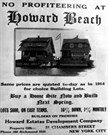 Howard Beach Ad 1921