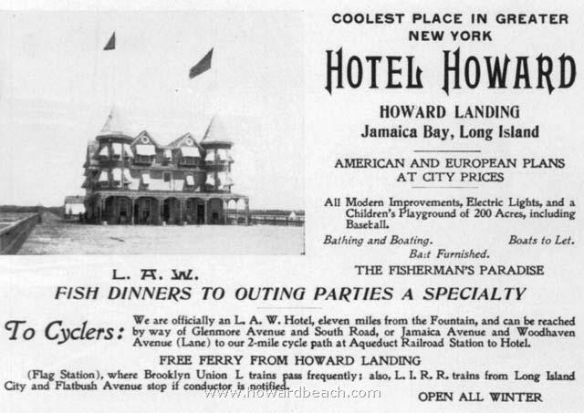 Hotel Howard Ad